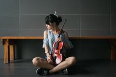 Violin I (Yukari_Mika) Tags: violin     music sunshine girl