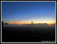 Foggy Oklahoma Sunrise (Snapshots by JD) Tags: fog foggy oklahoma dickey adair westville sunrise