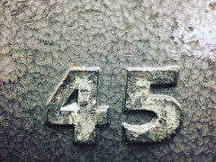 45. (Joseph Skompski) Tags: columbiamd columbia maryland colosseumgym colosseum gym weightlifting weights 45