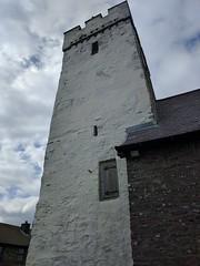 All Saints Church, Llansaint (deadmanjones) Tags: llansaint allsaintschurch white churchtower