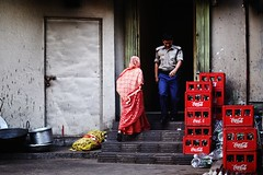 Backdoor, Pit Stop Restaurant (N A Y E E M) Tags: backdoor colors restaurant pitstop today friday afternoon street laalkhanbazaar chittagong bangladesh carwindow