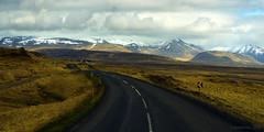 when life tastes a lot sweeter ... (lunaryuna) Tags: iceland northwesticeland westfjords cruisin ontheroadagain journey travel voyage driving fun solitude landscape panoramicviews mountainrange spring season seasonalchange sky clouds cloudscape lunaryuna