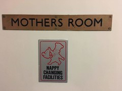 Little Chef - Bangor Mothers Room (hyamoliver) Tags: bangor littlechef a55 wales roadside restaurant toilets