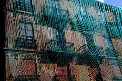 Texture (pjarc) Tags: europe europa spagna spain valencia texture 2016 settembre september casa palazzo bilding colori colors foto photo nikon dx d40 lens nikkor 18200mm copertura telo