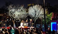 2016.12.01 Christmas Tree Lighting Ceremony, White House, Washington, DC USA 09288