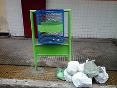 Centro - Coleta de lixo