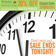Don't miss these 20% OFF Savings on Skin & Hair Care – Sale Ends Tonight! (mcarthurnaturalproducts) Tags: mnp mcarthurnaturalproducts pawpaw papaya papain papaw onsale salenowon skincaresale mcarthursale sale bargains halloween