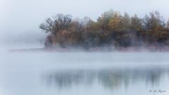Brume de lac. (Rouvier Jean Pierre) Tags: