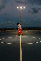 Going Home (Chuck LaChance) Tags: basketball sport sports dusk florida