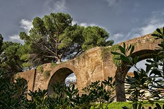 Aqua Claudia (kecal_2) Tags: pentax pentaxk3 k3 rome romanempire aquaduct aquaclaudia park garden city italy