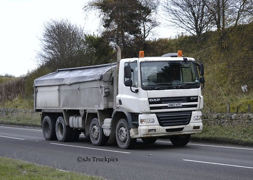 DAF CF,Ex Cemex,Unknown Haulier.