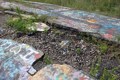 IMG_2033_edited (k.illi) Tags: abandoned town abandonedtown centralia pennsylvania pa route61 oldroute61 graffiti landscape