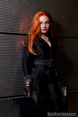 Black Widow (dgwphotography) Tags: blackwidow marvel marvelcomics nycc nycc2016 newyorkcomiccon cosplay 50mmf18g nikond600 nikoncls portrait