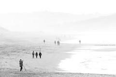 El fotgrafo  Playa de Valdearenas (Liencres, Cantabria) (Ana Lpez Heredia) Tags: analpezheredia canoneos600d canon eos 600d tamron18270mmf3563diiivcpzd tamron playa beach valdearenas pilagos liencres playadevaldearenas bruma gente paseo fotgrafo blancoynegro blackandwhite blanco black white negro gris paseantes
