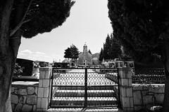 Sveti Luka (Swissrock-II) Tags: croatia svetiluka kroatien bw blackwhite nikon d700 cemetery church kirche september 2016
