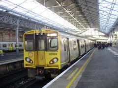 Southport (mostlybytrain) Tags: emu train liverpool mersey merseyside