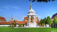 Palais Royal, Bangkok (01) (Ld\/) Tags: grand palace palais royale bangkok thailande thailand king roi city citytrip na phra lan road read  borom maha ratcha wang