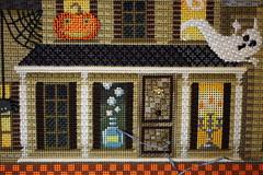 November 19 2016, Saturday (interchangeableparts) Tags: worksinprogress needlepoint mfboo kirkbradley hauntedhouse halloweenstitching