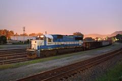 Oakwayish SD60 (GLC 392) Tags: oakway sd60 gmtx lease leasing gatx tarentum pa pennsylvania work train ns norfolk southern night time exposure photo 9027 railroad railway conemaugh line