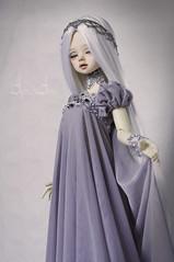 Grey Princess (AyuAna) Tags: bjd ball jointed dollfie doll ayuana design handmade ooak clothing clothes fantasy style dim dollinmind benetia hybrid