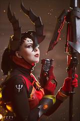 (くらくら - Dizzy) Tags: overwatch ow overwatchcosplay cosplay mercy owskins blizzard lisalaudanum dizzymongoatari blizzardcosplay devil mercydevil