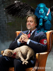 Steve Bannon  Supreme Nazi Commander of the Flying Monkey 4th Reich (WMxdesign) Tags: steve bannon nazi racist neonaziflyingmonkey altreich altright white supremacism supremacy supremacist trump gop republican