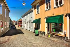 IMG_7938 tonemapped-1 (Andre56154) Tags: schweden sweden sverige haus gebude house building holzhaus stadt city strasse street town eksj himmel sky geschft shop shopping
