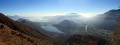 Hazy late fall above Lago Maggiore (supersky77) Tags: mergozzo lagodimergozzo lagomaggiore lake lac lago piemonte alpi alps alpes alpen valgrande parco nazionale della valgra