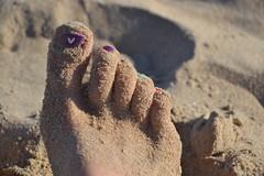 Foot. (Ftima Glez.) Tags: spain coast beach conil andalucia feet