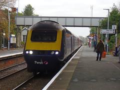43128 Liskeard (2) (Marky7890) Tags: gwr class43 hst 1c77 liskeard railway cornwall train 43128