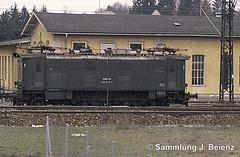 Bad Reichenhall Bahnhof BR 132 024-1 03-1973 (Pacific11) Tags: eisenbahn train track railway railroad bayern freilassing bad reichenhall elok vintage alt 1973 bahnhof