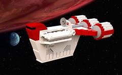 CR-20 Trooper Carrier (TheNerdyOne_) Tags: lego ldd starwars clonewars spaceship republic