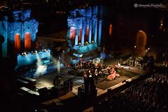 Music in its best place (Mire74) Tags: concerto sicilia live sicily canon taormina teatroantico musica battiatoealice lightroomcc concert canon70d sigma1750mmf28exdcoshsmcanon 2016 francobattiato music project522016