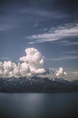 Alaska I (Bokehneer) Tags: haines alaska mountain range clouds sky landscape scenic nature bay inlet water