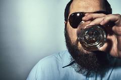 Sean - Bourbon (kennethlcrow) Tags: 35mmf14dghsm|a sigma 35mm art sigma35mmart sonya7rii mc11 onelight hardlight bourbon beard drinking godox cheetahstand