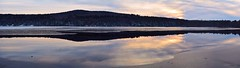 2016_1206Ice-Over-Begins-Pano0002 (maineman152 (Lou)) Tags: panorama westpond pond lake water freezing freezingover coldweather sunset sky skycolor skycolors skyview skyscene skyscape decembersky wintersky winterweather winter nature naturephoto naturephotography landscape landscapephoto landscapephotography maine