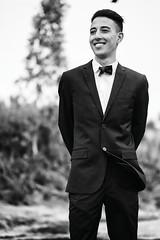 Wahi (JM Brëa) Tags: modelo hombre retrato traje blancoynegro