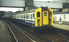 British Rail 4VEG emu 7907 East Croydon (jc_snapper) Tags: br britishrail britishrailways class427 4veg eastcroydon yorkworks brel southernregion centraldivision emu triebwagen train railway