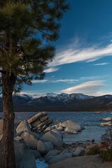 night's on it's way (reserves13) Tags: laketahoe sandharbor sunset clouds rocks alpinelake