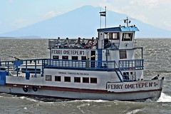 Ometepe Ferry & Volcan Maderas (zorro1945) Tags: ferry boat nicaragua centralamerica moyogalpa ometepe ferryboat sanjorge centroamerica lakenicaragua volcanmaderas lagodenicaragua maderasvolcano