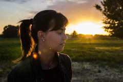 Thoughts (Mattia Notari) Tags: sunset portrait sun sunlight sunshine backlight sunrise thought think thinks thoughts pp sunsky tamron2875 profilo nopost backlightportrait canon600d naturalset