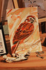 Work in Progress (skipmoore) Tags: bird painting downtown artist open sparrow works marfin aritists studiosart
