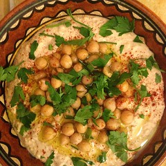Made My First Hummus. (Oren Rosenfeld (oreng)) Tags: food film square cuisine israel documentary squareformat ישראל israeli hummus chickpea 2014 סרט middleast חומוס דוקומנטרי orenrosenfeld אורןרוזנפלד דוקו iphoneography instagramapp uploaded:by=instagram holylandproductions notabouthummus