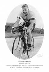 Vic Gibbons, Men's B.B.A.R., 1954. (Paris-Roubaix) Tags: road bike club vintage cycling hall concert long time albert royal 1954 racing best victor souvenir council vic british distance trials champions programme bbar the gibbons brenwood rttc allrounder trialing