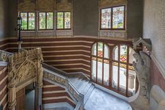 Top of Staircase View (Glenn Shoemake) Tags: barcelona hospitalsantpau canonef1635f28lii