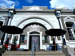 Onehunga, Auckland, New Zealand (Sandy Austin) Tags: newzealand restaurant cafe library auckland northisland onehunga sandyaustin panasoniclumixdmcfz40