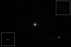 Splitting doubles #3: epsilon Bootes, Izar (Sergei Golyshev) Tags: star space double 150 telescope astrophotography lucky processing astronomy imaging universe cosmos omni constellation reflector celestron epsilon izar xlt starfield  newtonian  bootes