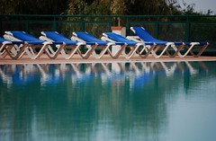 Empty (Blue Sere) Tags: sardegna blue pool swimming reflections relax landscape outdoor piscina swimmingpool riflessi nuoto