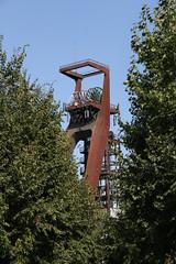 Zeche Recklinghausen, Schacht 2, Recklinghausen (DBAGmember) Tags: kohle pit frderturm zeche colliery headframe bergwerk shafttower pitheadframe