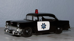 1956 Chevy Bel Air - California Highway Patrol (Gerard Donnelly) Tags: chevrolet belair police chp jada wave7 heropatrol